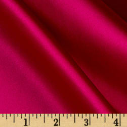 100% Silk Charmeuse Dark Magenta Fabric