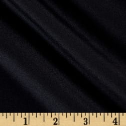 100% Silk Crepe de Chine Black Fabric