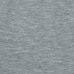 Jersey Knit Solid Light Heather Gray Fabric