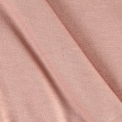 Jersey Knit Solid Rose Fabric