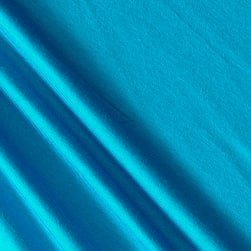 Jersey Knit Solid Turquoise Fabric