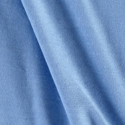 Jersey Knit Solid Powder Blue Fabric