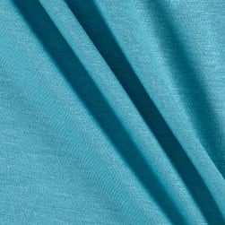 Jersey Knit Solid Aquarelle Fabric