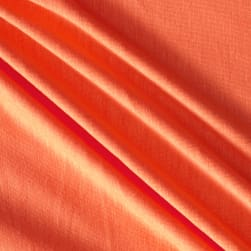 Jersey Knit Solid Orangina Fabric