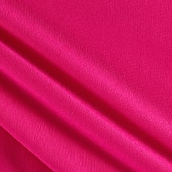French Terry Knit Solid Fuchsia
