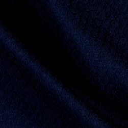 Honeycomb Double Knit Navy