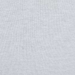 Cotton Interlock Knit White Fabric
