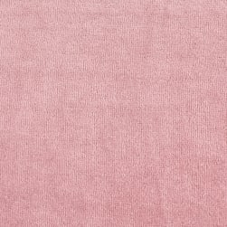 Solid Velour Dusty Rose Fabric