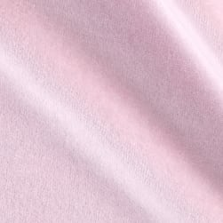 Solid Velour Pink Fabric