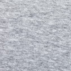 Solid Velour Grey Heather Fabric