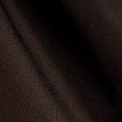 Outdoor Oxford Sailcloth Chocolate Fabric