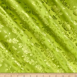 Rose Satin Jaquard Kiwi Fabric