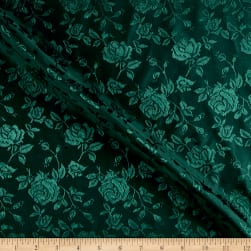 Rose Stain Jaquard Hunter Fabric