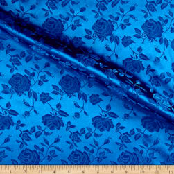 Rose Satin Jaquard Royal Fabric