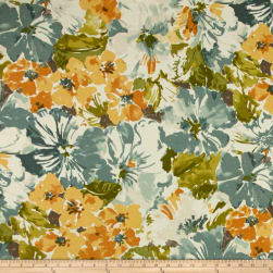 Bryant Indoor/Outdoor Summer Garden Ginger Fabric
