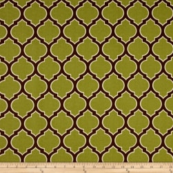 Bryant Indoor/Outdoor Veranda Trellis Grass Fabric