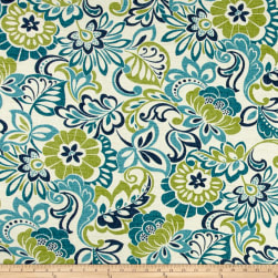 Bryant Indoor/Outdoor Bloomfield Garden Zoe Mallard Fabric