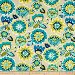Bryant Indoor/Outdoor Gazebo Floral Lagoon Fabric