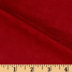 Vintage Suede Red Fabric