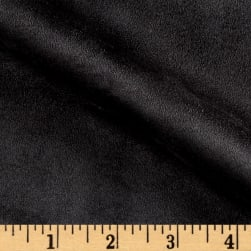 Vintage Suede Black Fabric