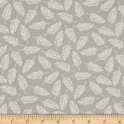 Moda Whispers Muslin Mates Float On Zen Grey