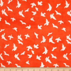 Moda Whispers Double Gauze Take Flight Glow Fabric