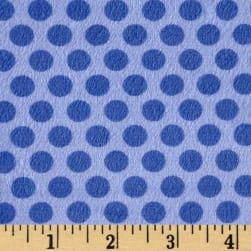 Minky 2 Tone Dot Royal