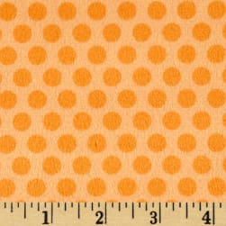 Minky 2 Tone Dot Orange