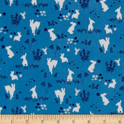 Michael Miller House of Hoppington Frolic Breeze Fabric