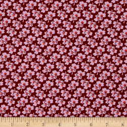 Amy Butler Eternal Sunshine Pansies Amber Fabric