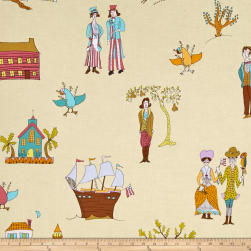 Kathy Doughty Folk Art Revolution Settlers Pretty Fabric