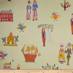 Kathy Doughty Folk Art Revolution Settlers Traditional Fabric