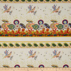 April Cornell Gypsy Dance Gypsy Border Antique Fabric