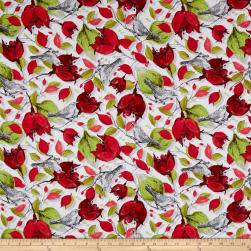 Baroque Garden Ornamental Mesa Fabric