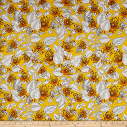 Baroque Garden Le Jardin Gold Fabric
