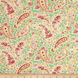 Verna Mosquera Sugar Bloom Pretty Paisley Pistachio