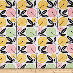 Joel Dewberry Cali Mod Floral Stock Cactus Fabric