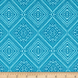 Joel Dewberry Cali Mod Ethnic Diamond Teal