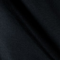 60'' Poly Cotton Broadcloth Black Fabric