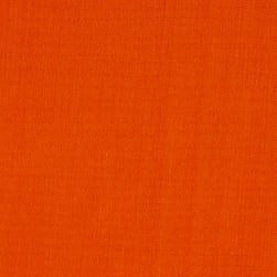 60'' Poly Cotton Broadcloth Orange Fabric