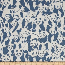 Art Gallery Pandalicious Voile Pandalings Pod Night Fabric
