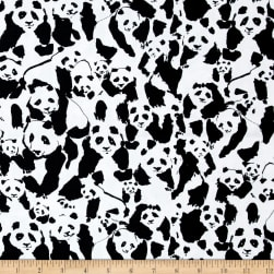Art Gallery Pandalicious Canvas Pandalings Pod Assured Fabric