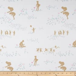 Art Gallery Playground Canvas Spy Friendship Fabric