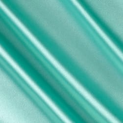 Stretch Charmeuse Mint Fabric