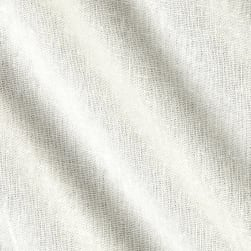 Rayon Linen Blend Ivory Fabric