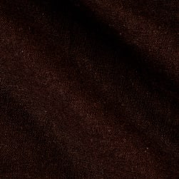 Rayon Linen Blend Brown Fabric