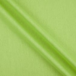 Rayon Linen Blend Lime Fabric