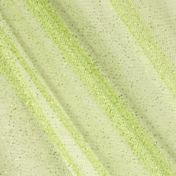 Sparkle Tulle Lime Fabric