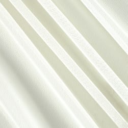 Power Mesh Ivory Fabric