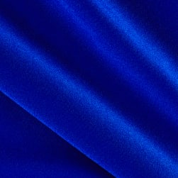 Activewear Spandex Knit Solid Royal Fabric